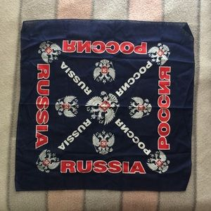 Russia scarf?